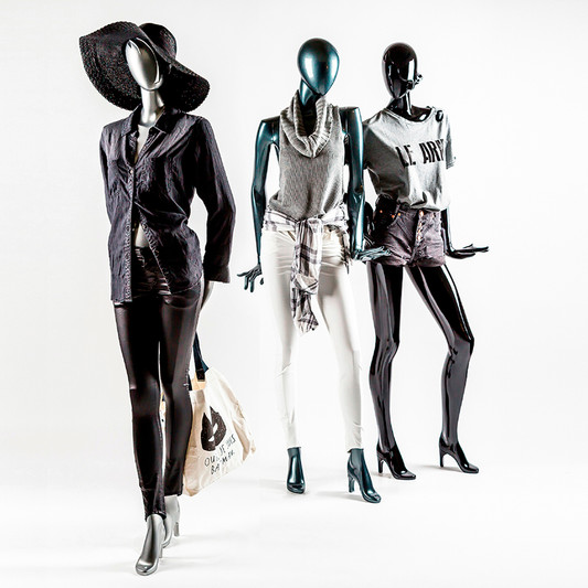 Bonami mannequins_Collection glamaga_abstract female mannequin