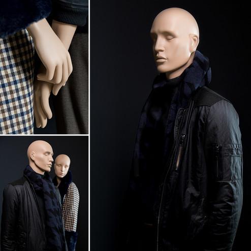 Bonami mannequins_Collectie Omnia_heren paspop abstract