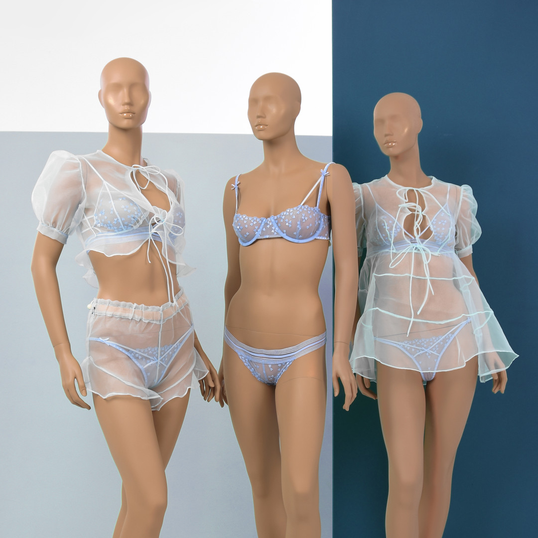 Bonami mannequins_Collection Harmony_Female abstract mannequins