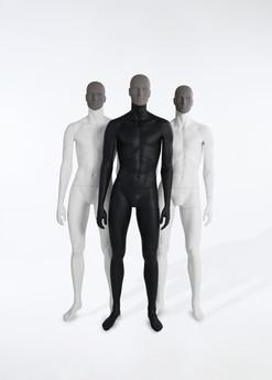 Bonami mannequins_Collection Affinity_male mannequin_detachable face and different positions