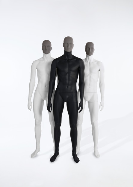 Bonami mannequins_Collection Affinity_male mannequin_detachable face and different positions