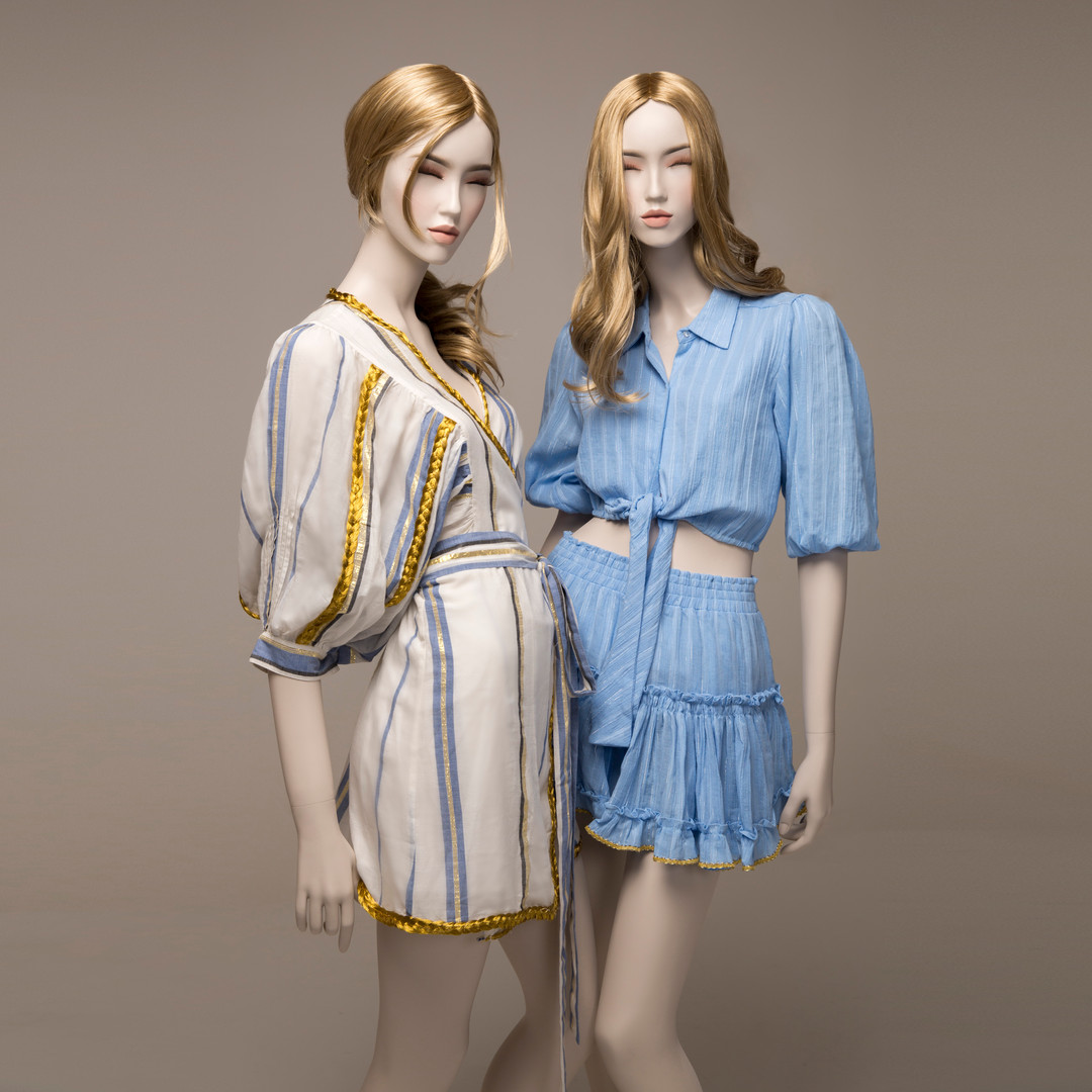 Bonami mannequins_Stars realistic collection with make-up and wig