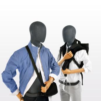 Bonami sustainable male mannequins