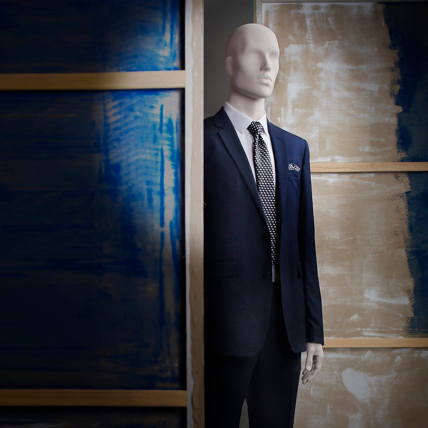 Male mannequin for suits