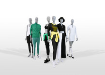 Bonami mannequins_collection future mannequin_finish raw concrete_unbreakable and recyclable mannequin_sustainable sport mannequin