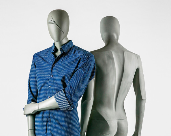 Bonami mannequins_Collection Shiki_male abstract mannequin for clothing