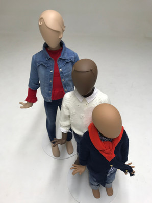 Bonami mannequins_Collection Glamaga kids_different skin colours and ages