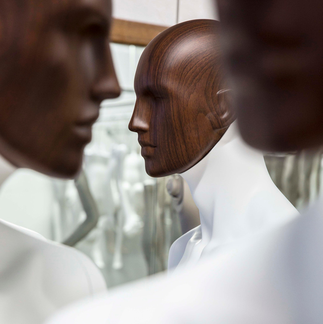 Bonami mannequins_Collection Affinity_male mannequin_detachable wooden head