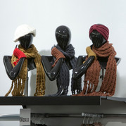 Bonami mannequins_Collection Shiki_Female abstracte collectie_accessoires