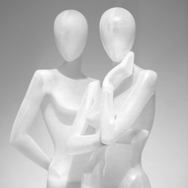 Bonami mannequins_Collection Shiki_Female abstract collection_transparent