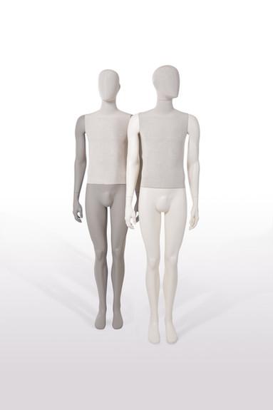 Bonami mannequins_Collection Simplicity_male mannequin avec tête détachable et recouvert de lin