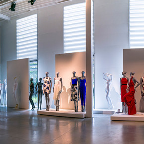 Mannequin showroom in Belgium