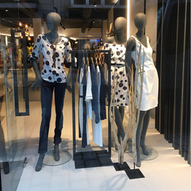 Bonami mannequins_Fashion queen collection_ dames etalagepop_instore presentatie