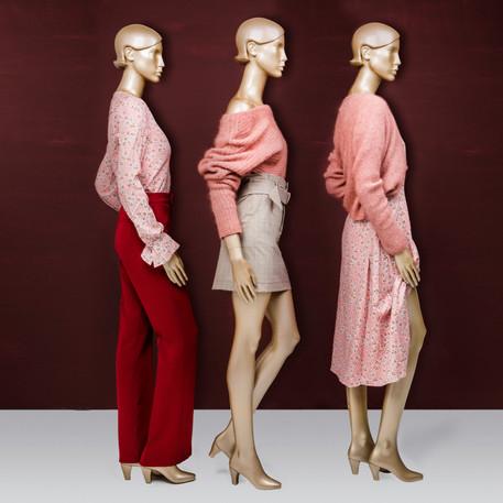 Bonami mannequins_Simpurity collection_female mannequin