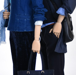Bonami mannequins_Dames Simplicity collection_met houten armen