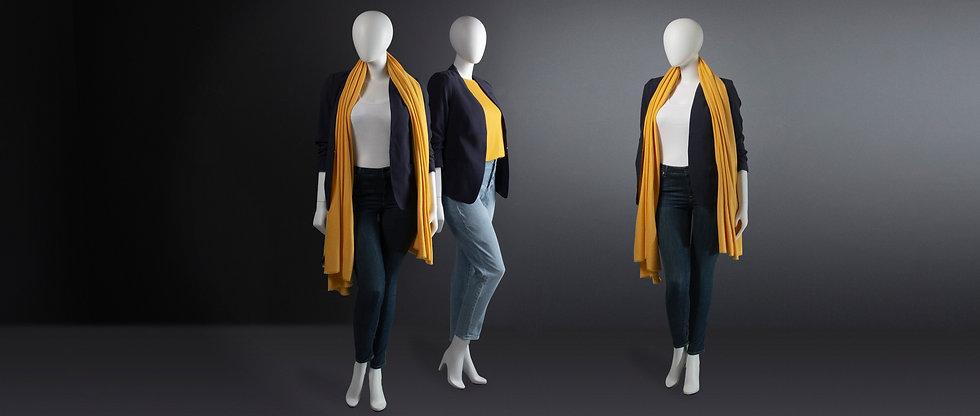 Plussize window mannequin for womenswear