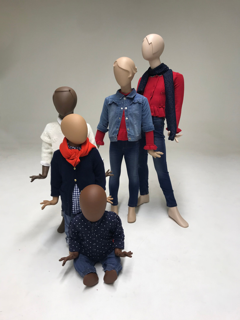 Bonami mannequins_Collection Glamaga kids_visualpresentation