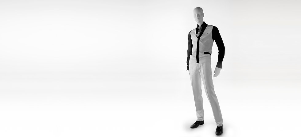 Shop mannequin for men clothing