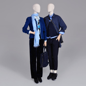 Bonami mannequins_Female Simplicity collection_Covered with fabric