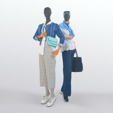 Bonami sustainable future mannequin collection