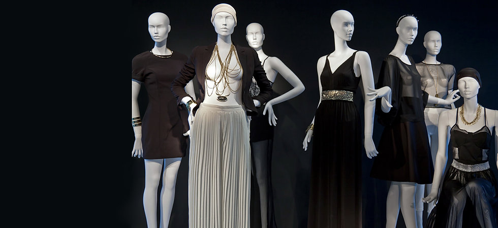 Fashion mannequin for womenswear