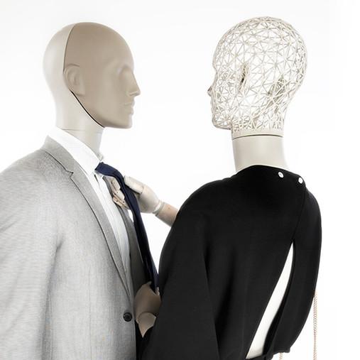 Bonami mannequins_Dames Simplicity collectie_met afneembaar hoofd