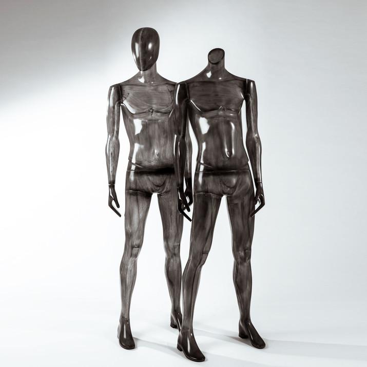 Bonami mannequins_Collection Shiki_male abstract mannequin_windowinspiration_mannequin_black transparent