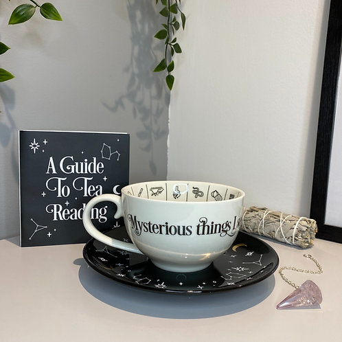 Fortune tellers  ceramic teacup