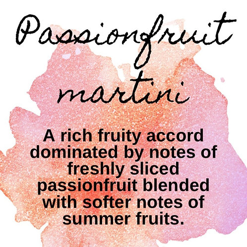 Passionfruit martini Snap bar