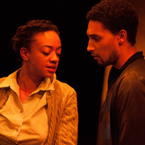 Beryl Bain as Amelia and Kaleb Alexander as Jason
