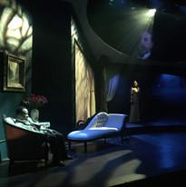 Ray Strachan as Elliot Lovborg and Lauren Brotman as Hedda Gabler