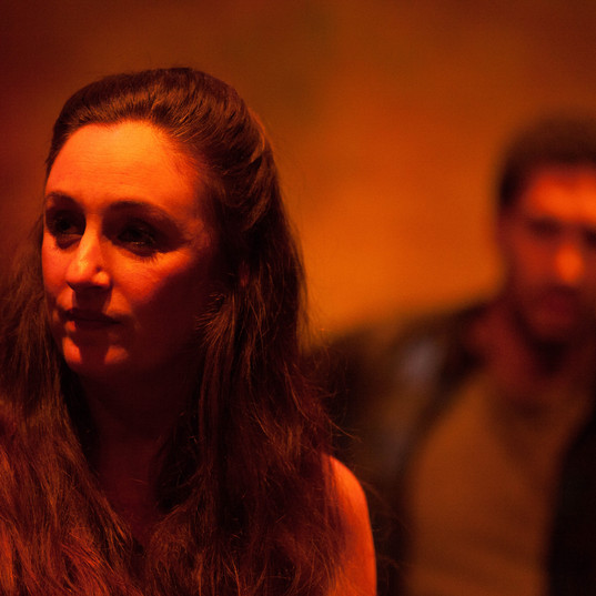 Lauren Brotman as Jo and Kaleb Alexander as Jason