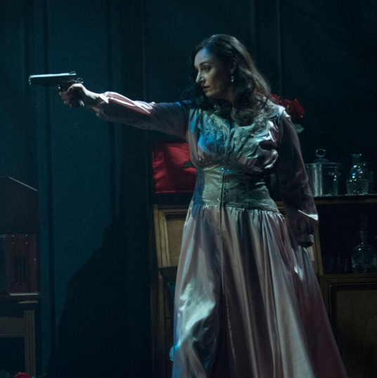 Lauren Brotman as Hedda Gabler