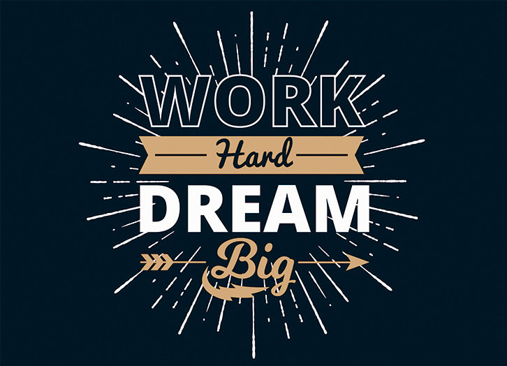 Work hard iman