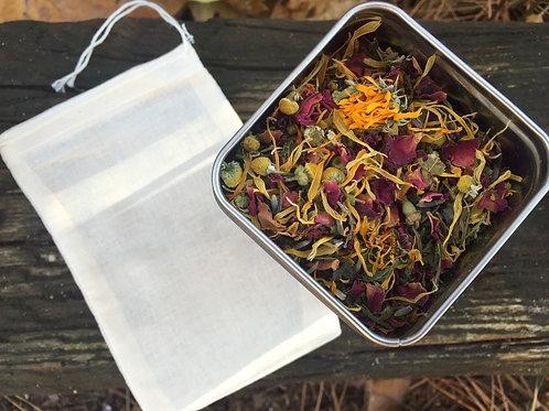 Herbal Facial Tea - Green Tea and Rose