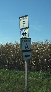F'n A sign