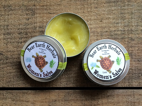 Women's Salve - PMS, Cramps, Menopause, Aches and Pains