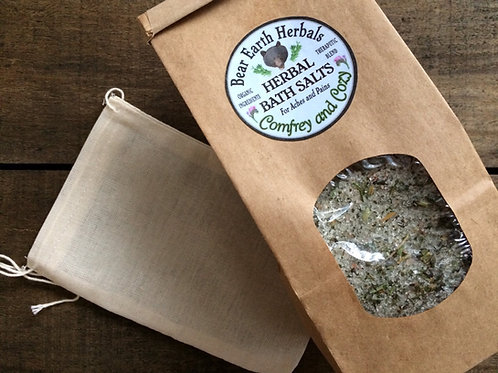 Comfrey and Cozy Bath Salts