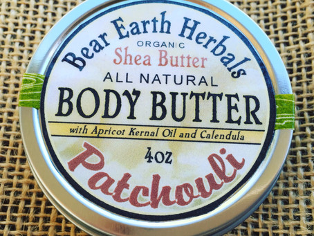 NEW PRODUCT! Patchouli Body Butter