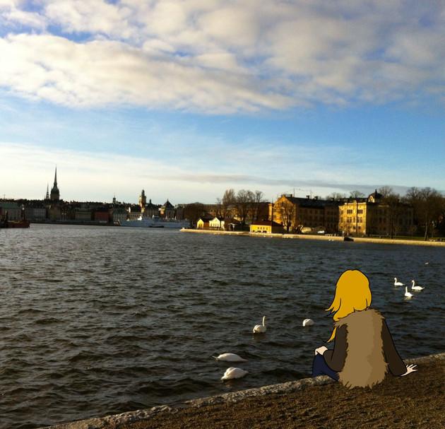 First visit in Stockholm
