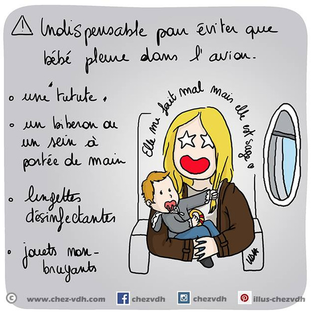 Bébé + Avion = Tranquille !