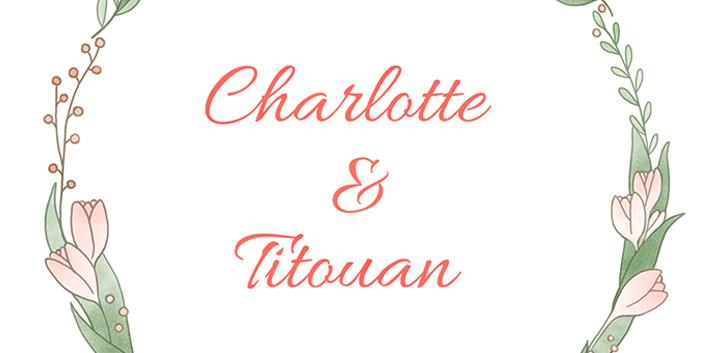Logo mariés