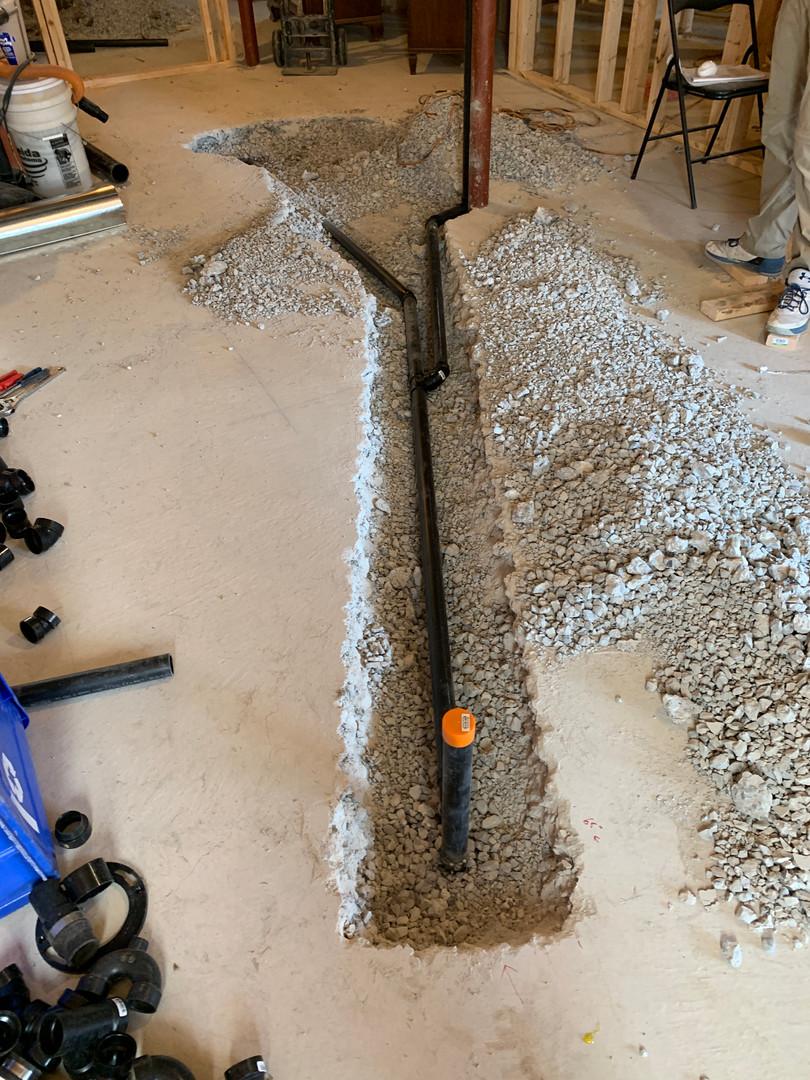Basement drain