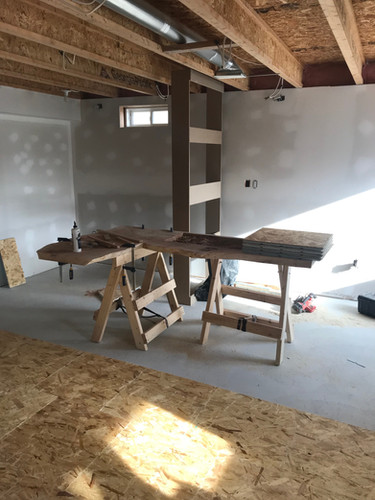 Work bench and sub floor