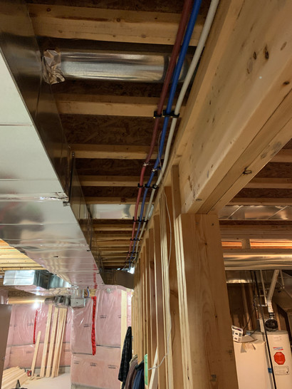 HVAC electrical and plumbing