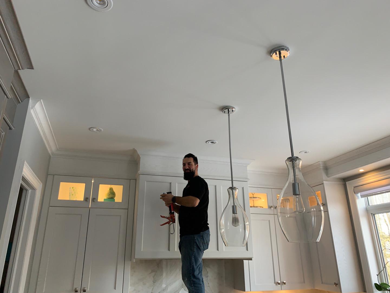 Kitchen caulking