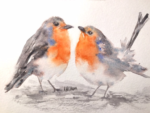 Couple of Robins