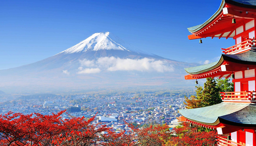 view-of-mout-fuji-from-red-pagoda-tkyo-j