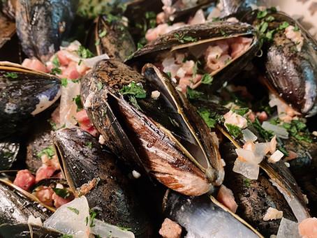 Irish Cider Mussels