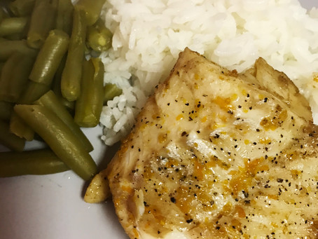 Balsamic Orange - Glazed Cod